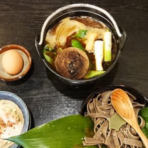 亀戸 養生料理 高の かりー蕎麦